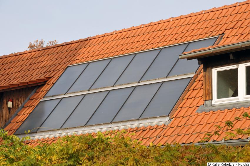 Photovoltaik indach integrierte montage der solarmodule Markisen auf dach montage