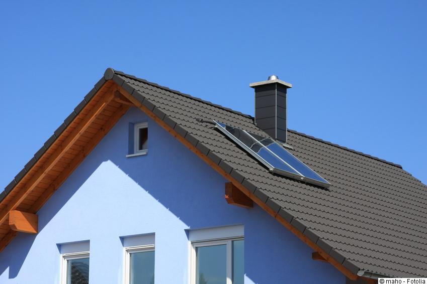 Solarthermie im Einfamilienhaus - Funktion, Auslegung & Kosten