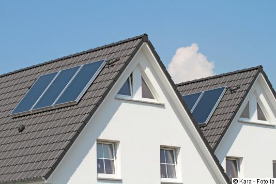 Solarthermie im Neubau