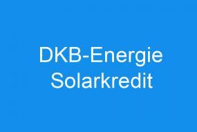 DKB-Energie Solarkredit