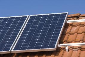 Hinterlüftung der Solarmodule
