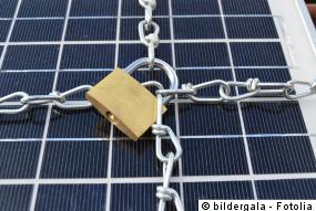 Photovoltaik Diebstahl