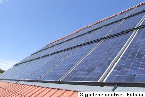 Dachintegration der Photovoltaikanlage