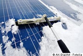 Photovoltaik und Schnee