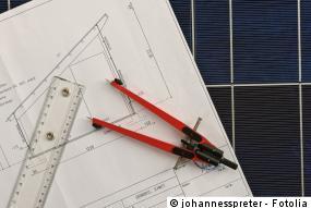 Übersichtsplan der Photovoltaikanlage
