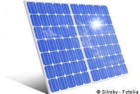 Reflexionsverluste bei Solarmodulen