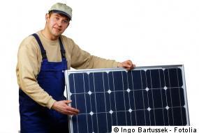 Wartung der Photovoltaikanlage