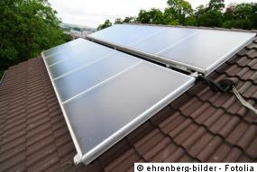 Kollektor für eine Solarheizung