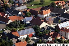 Solarkataster Luftbild